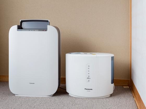 空気清浄器、加湿器