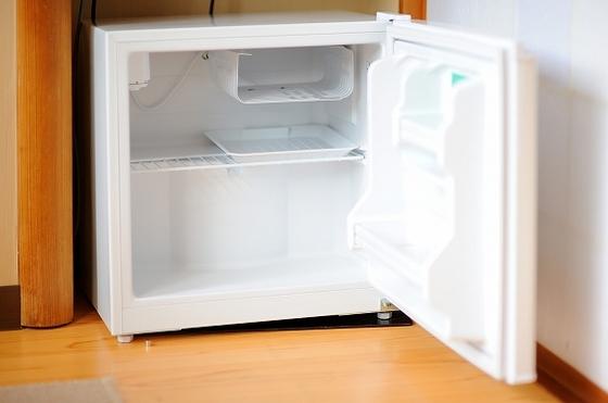 全室にご自由にお使い頂ける「空冷蔵庫」を導入しております