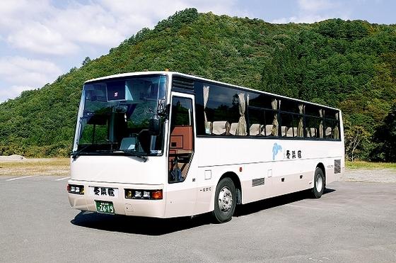 車が無くても、送迎バスで愛隣館まで楽々来れます