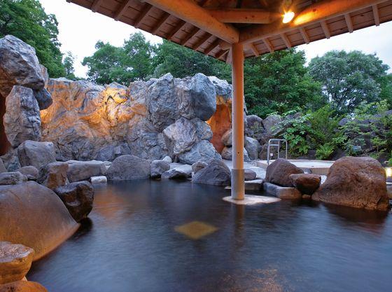 ホテルの温泉は自家源泉の良泉。ベビーの温泉デビューにもおススメです