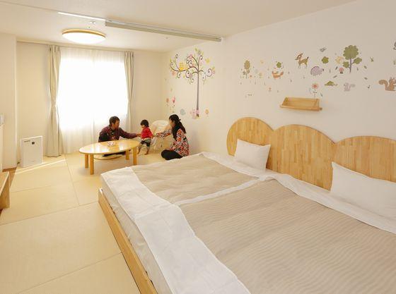 赤ちゃんプランハピネスルームは赤ちゃんプランの客室がグレードアップ!!