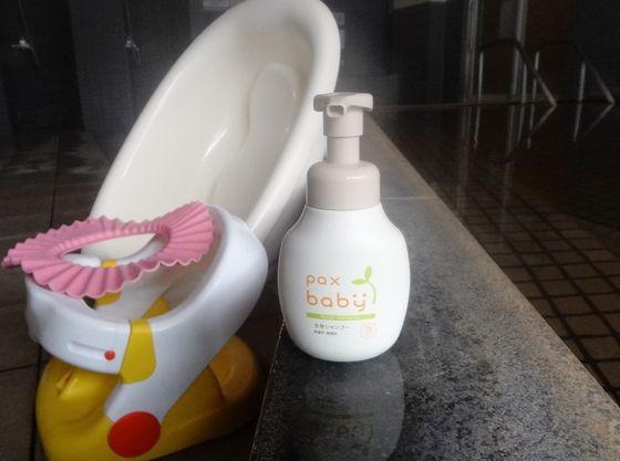 大浴場内にはベビーソープ、ベビーチェア、シャンプーハットもご用意。赤ちゃんの温泉デビューにも◎