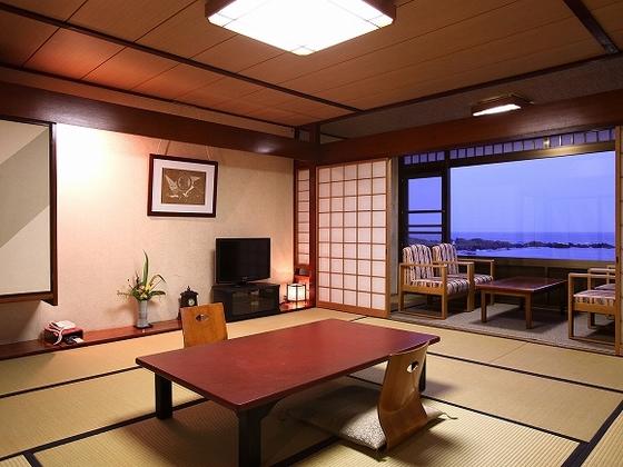 広々とした眺望の一般客室
