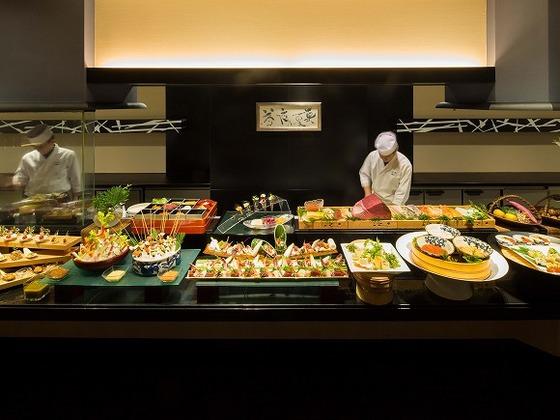 日本料理「美浜」ランチブッフェ(イメージ)