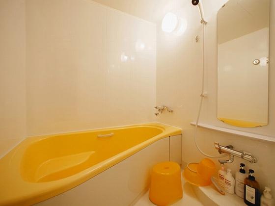 バス・トイレ別はオランジュだけ!三角浴槽で楽しくバスタイム!