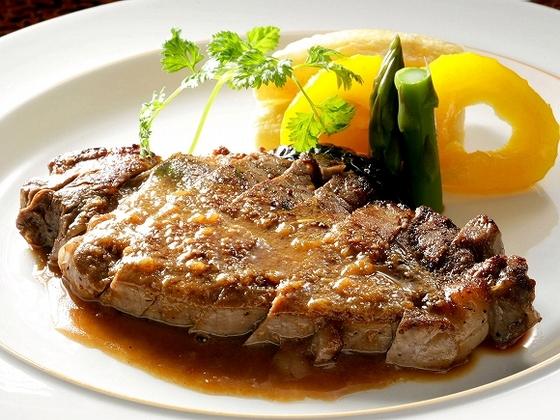 相州牛のステーキ 別注またはプランでご用意しております。