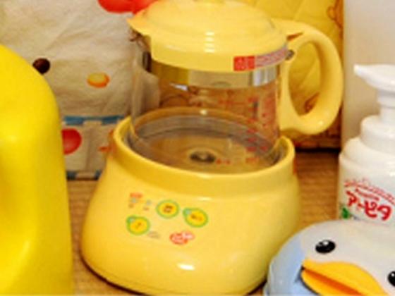 小さな赤ちゃんと一緒でも安心です!ミルクを温める調乳ポットの貸し出しサービス!
