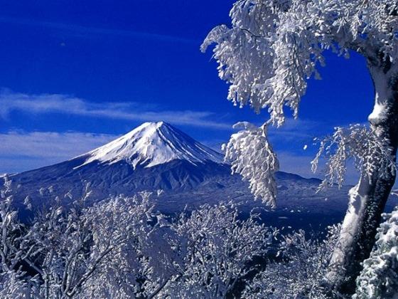 富士山!と言えばこの冠雪した富士山ですね♪