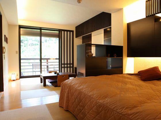 【新館和洋室例】ベッドがダブルタイプ(部屋指定はできません)