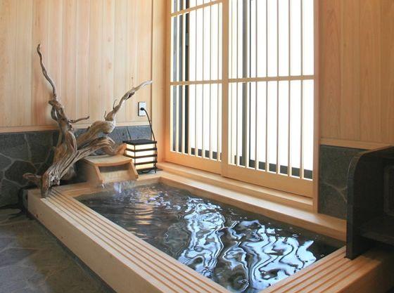 【新館家族風呂例】しあわせ貸切風呂で家族水入らずのひと時を♪
