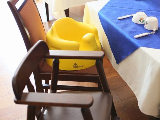 【レストラン】子供椅子・バンボ・お椀・フォーク・スプーンも♪