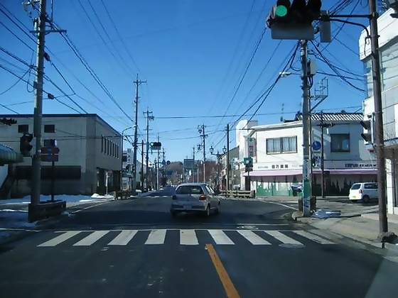 【アクセス2】中軽井沢駅を左手に見ながら、R146方面に右折