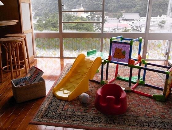 キッズ仕様の和洋室は、お子様はもちろんパパ・ママも嬉しい装備がいっぱい。