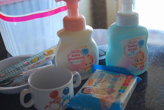 【ウェルカムベビーのお部屋】専用プランは赤ちゃんグッズ貸出付。シャンプー・ソープ・おしり拭きも♪