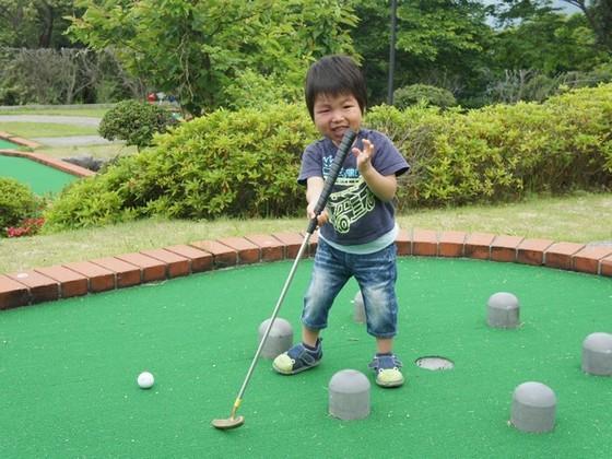 パットゴルフ(お子様クラブ完備)