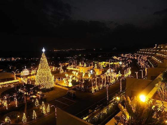 沖縄随一のイルミネーションイベント「スターダストファンタジア」