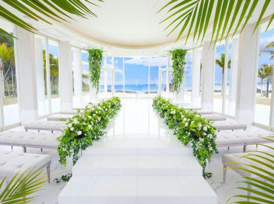 ウェルカムベビーの結婚式場にも選ばれているカヌチャリゾート