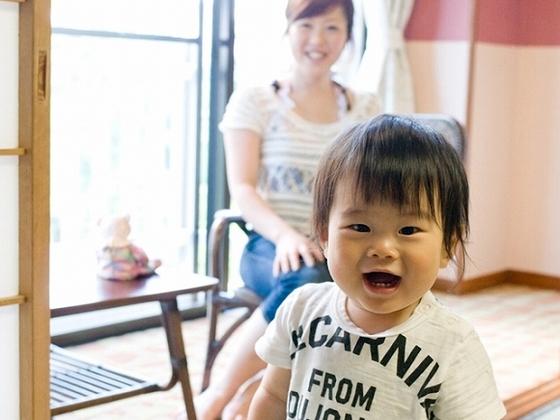 プレイルームなど赤ちゃんも笑顔になっちゃいます