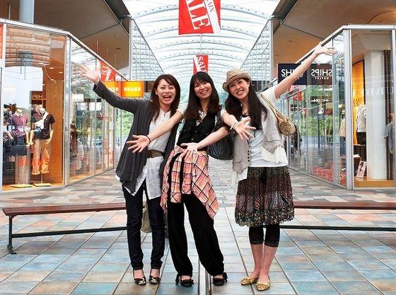 高原のアウトレットモールで買い物も◎~軽井沢プリンスショッピングプラザ