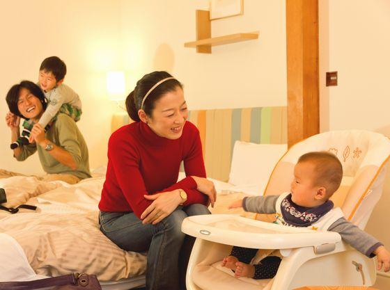 赤ちゃんプランではママも嬉しいベビー用品備えた安心のお部屋