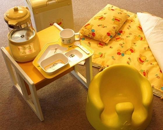 お食事はお部屋出しなので、赤ちゃんもご一緒に安心して召し上がれます。