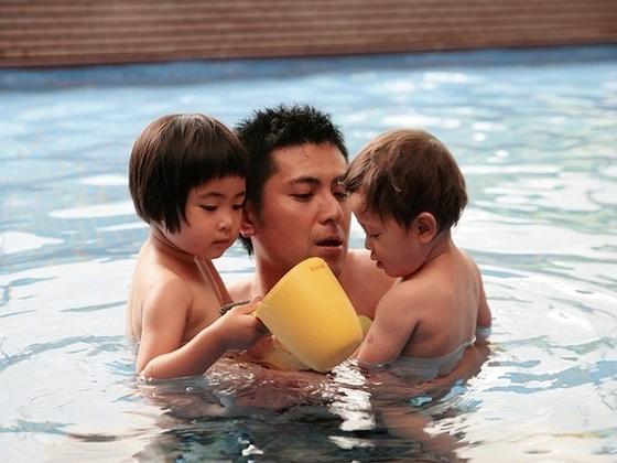 大浴場「湯プラザ」で家族みんなが大満足。