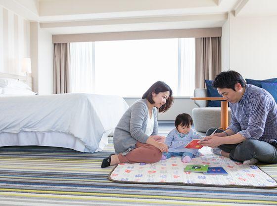 和室は92平米もあり、家族でゆったりくつろげます