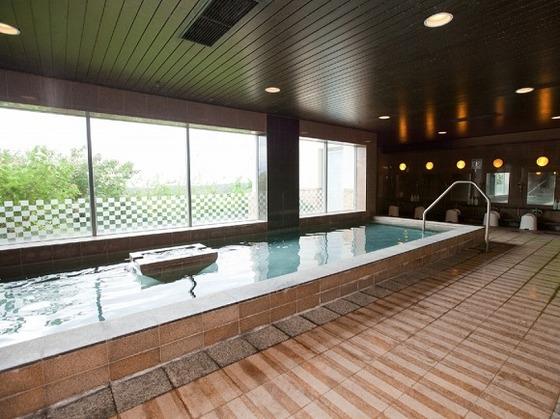 海外では珍しいジャパニーズスタイルの大浴場。