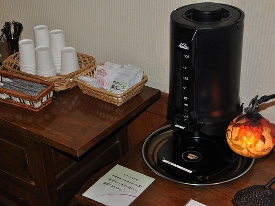 コーヒーや紅茶などご自由にお飲みいただけるスペース