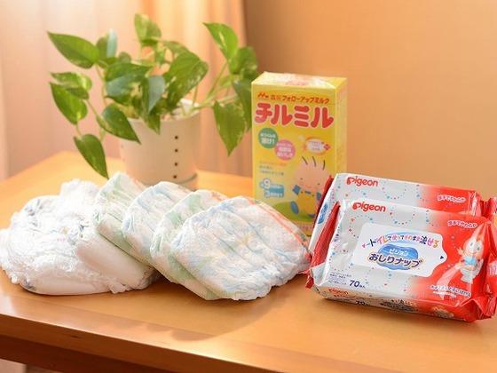 お子様の温泉デビュープラン特典グッズ
