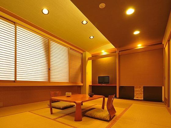 「ウェルカムベビーのお宿」認定の新12畳和室です。
