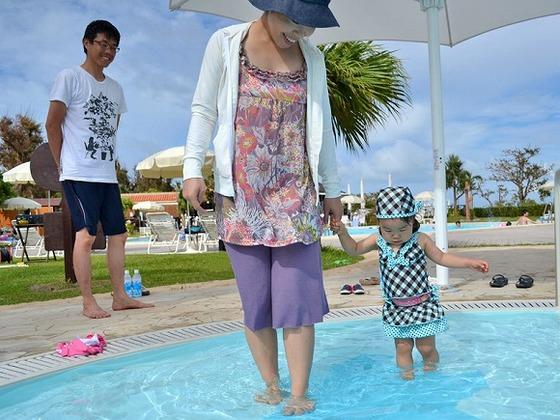 3つのエリアで年齢に合った水遊びがお楽しみ頂けるキッズプール