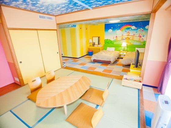 おもちゃ王国ルームは「ほしぞら」「あおぞら」の2部屋あります