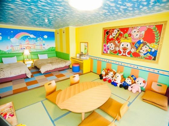 おもちゃ王国とコラボレーションした、わくわく楽しいお部屋