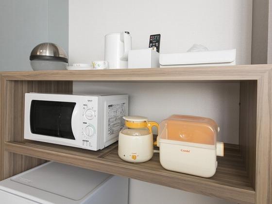 お子様連れに便利な設備や、貸出し備品も充実!