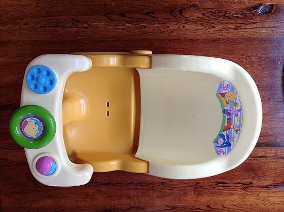 お風呂内で使用するベビーチェアー