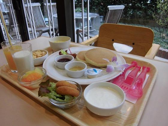 お子様用朝食メニュー開始予定です。(2014年7月2日より)