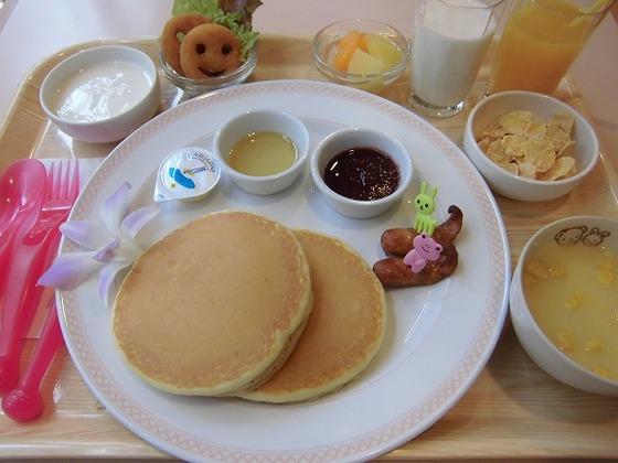 お子様用朝食メニュー(一例)