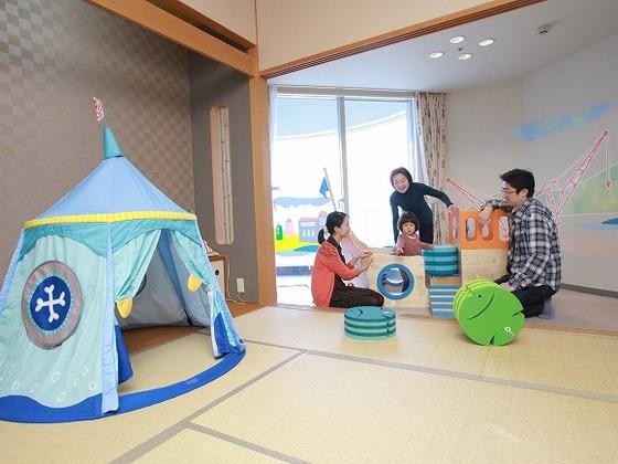 """想像力を育む遊具で""""ごっこ遊び""""を楽しめます"""