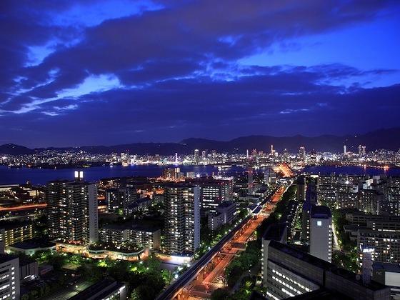 本館上層階からの夜景 一例