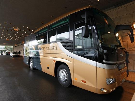 『新神戸駅」・「三宮駅」とホテルを結ぶ無料シャトルバス