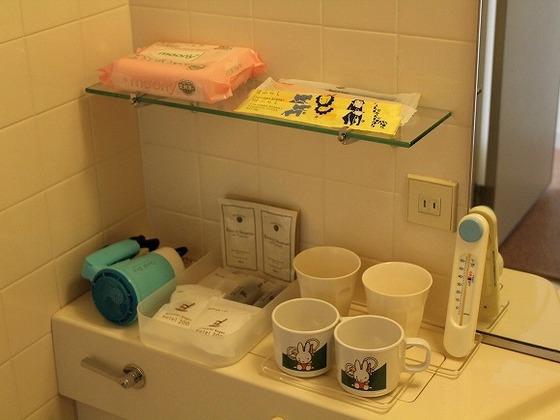 お子様用歯ブラシなどもご用意しております