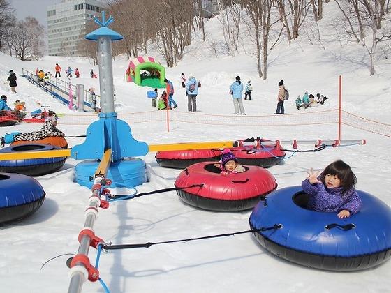 5歳以下のお子様専用雪遊び広場「キンダーガーテン」