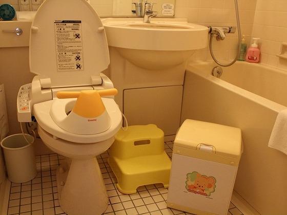 限定ベビールームに常設されたお助けセット