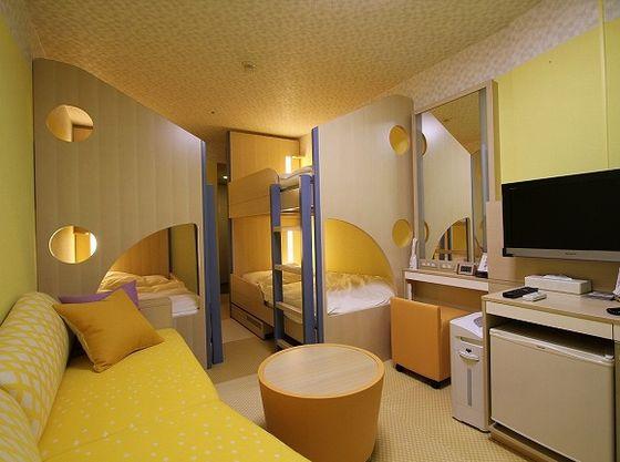 ホテルを取り囲む絶景を満喫する「コーナールーム」