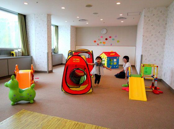 3歳までのお子様が館内でも楽しめる「キッズルーム」