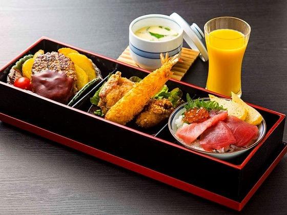 「日本料理Kai」のお子様プレート。人気の定番メニューです