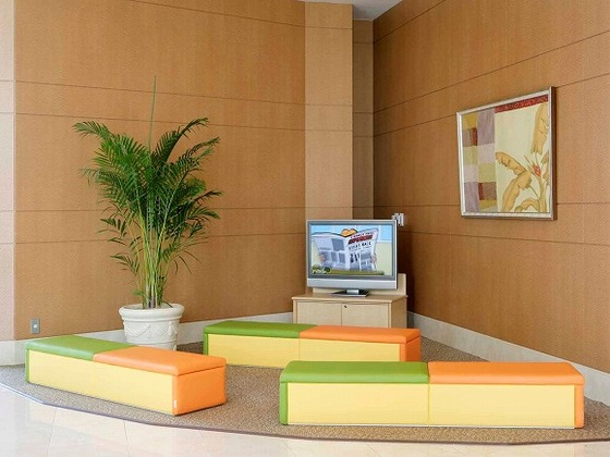 ディズニーチャンネルを視聴できるキッズスペース
