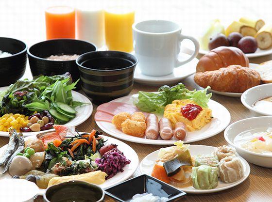 種類豊富な朝食バイキング(イメージ)
