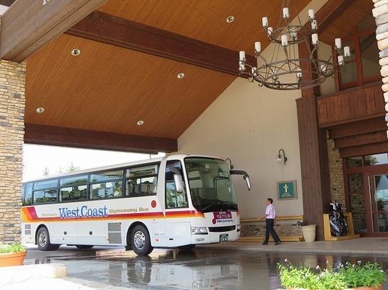 都心からの直行バスでらくらくアクセス♪